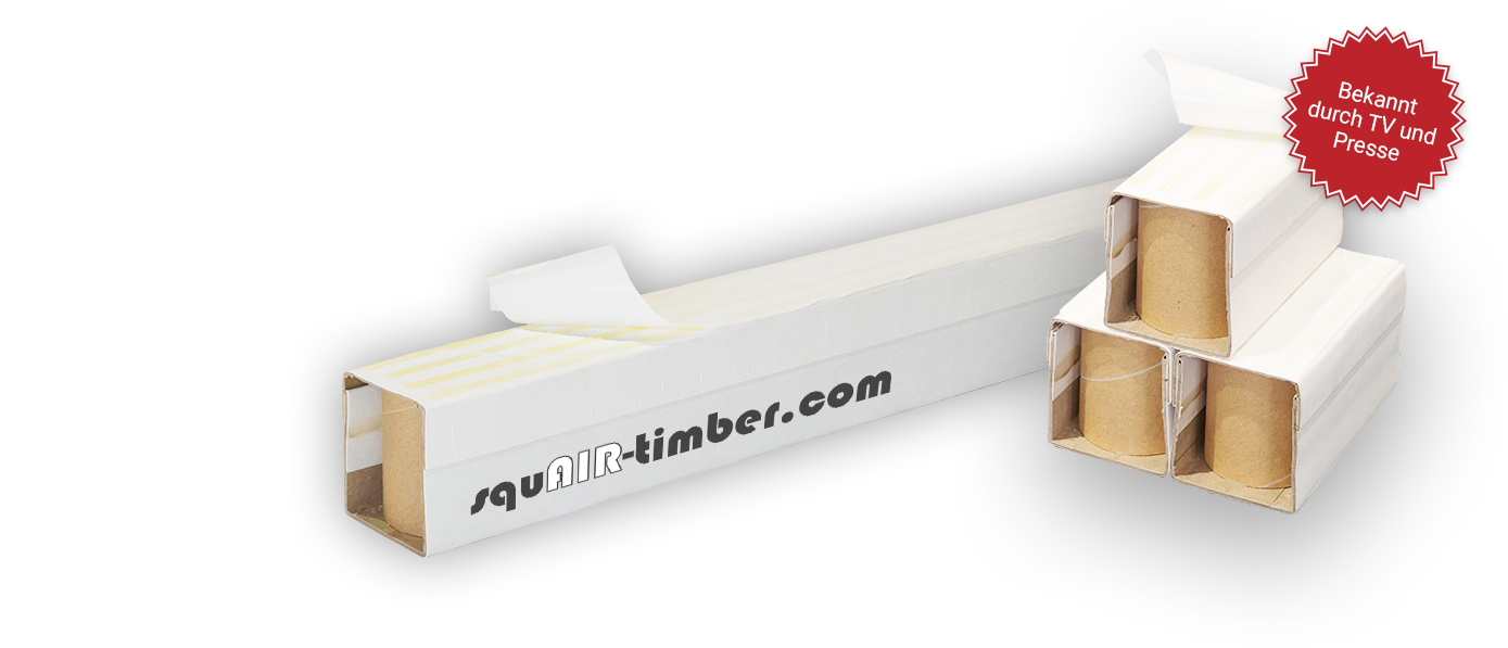 squAIR-timber®-Kartonkufen